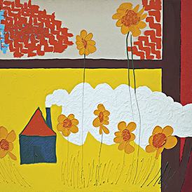 Home Sweet Home | 2003 |  acrylique sur toile | 10F