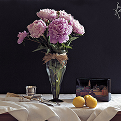 Nature morte aux pivoines  | Photo couleur 2015