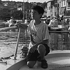 Cassis | Photo noir&blanc | 1998